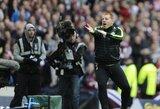 """Į """"Celtic"""" komandos trenerio N.Lennono gyvybę pasikėsinę vyrai už grotų praleis penkerius metus"""