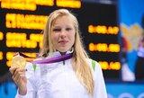 Stebuklingas pasirodymas: 15-metė R.Meilutytė iškovojo olimpinį auksą!