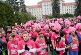 Bėgdami skatins mylimas moteris pasitikrinti dėl krūties vėžio