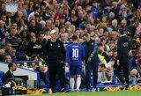"""Ch.Benteke: """"E.Hazardas sprendimą dėl """"Real"""" priėmė jau labai seniai"""""""