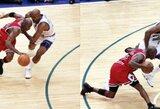 """Legendiniam """"Bulls"""" ir M.Jordano triumfui NBA finale sukanka lygiai penkiolika metų"""