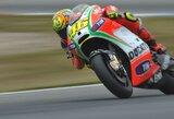 """""""Ducati"""" namų lenktynėse San Marine V.Rossi ir N.Haydenas sieks pradžiuginti ekipos fanus"""