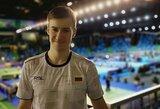 Lietuvos vyrų badmintono rinktinė Europos čempionate pralaimėjo slovakams