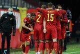 Belgijos rinktinė užkirto anglams kelią patekti į Tautų lygos finalines kovas