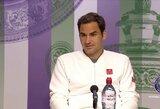 """Apie ateitį prabilęs R.Federeris: """"Praleidau neįtikėtiną galimybę laimėti"""""""