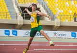 Baltijos šalių lengvosios atletikos mačas prasidėjo rekordiniu E.Matusevičiaus metimu (+ kiti rezultatai)