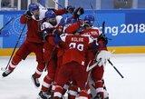 Čekai po baudinių serijos išmetė amerikiečius iš olimpiados
