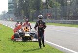 """""""Red Bull"""" ekipos pilotai liko nusivylę Italijos GP lenktynių baigtimi"""
