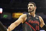 """E.Kanteris: """"Ačiū """"Knicks"""" komandai, kad mane atleido"""""""