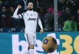 """""""Juventus"""" iškovojo dar vieną pergalę ir tolsta nuo persekiotojų"""