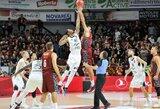 """Visas rungtynes pirmavusi """"Partizan"""" vos neišleido pergalės iš rankų"""