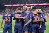 """Prancūzijoje – Neymaro sugrįžimas, K.Mbappe pelnytas """"hat-trickas"""" ir PSG užsitikrintas Prancūzijos čempionų titulas"""