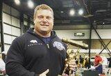 Ž.Savickas laimėjo Europos rąsto kėlimo čempionatą