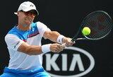 R.Berankis ATP 250 turnyre Indijoje be kovos pateko į antrąjį ratą ir sulaukė gerų žinių iš Dubajaus