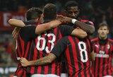 """""""AC Milan"""" per pridėtą rungtynių laiką išplėšė pergalę prieš """"Genoa"""""""