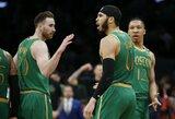 """Celtics"" po dviejų pratęsimų palaužė ""Clippers"""