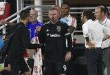Pamatykite: W.Rooney pelnė pirmą įvartį MLS pirmenybėse, tačiau rungtynes baigė kraujuojančiu veidu