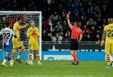"""E.Valverde apgailestavo dėl F.De Jongo gautos raudonos kortelės: """"Toks yra futbolas"""""""