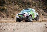 """V.Žalos """"Toyota Hilux"""" testai – paskutiniai Lietuvoje, bet ne paskutiniai prieš Dakarą"""