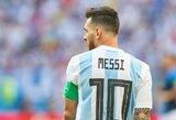 Argentinos prezidentas pasiuntė L.Messi žinutę