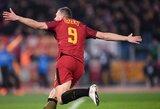 """Žiemą vos """"Roma"""" klubo nepalikęs E.Džeko: """"Likau čia būtent dėl tokių rungtynių"""""""