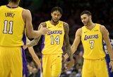 """B.Ingramo tritaškis nutraukė """"Lakers"""" pralaimėjimų seriją"""