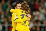 A.Griezmannas pripažino, jog vis dar mokosi žaisti kartu su L.Messi