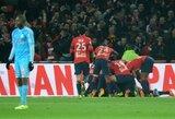 """Prancūzijoje – dramatiška """"Lille"""" ir užtikrinta """"Monaco"""" pergalės"""