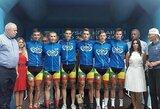 Lenktynėse Lenkijoje – Lietuvos dviratininkų triumfas