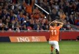 EURO 2016 atranka: Olandija gavo antausį namuose, Belgija nukovė bosnius