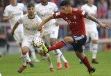 """""""Bayern"""" praleido pirmąjį rungtynių įvartį, tačiau vis tiek šventė pergalę"""