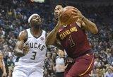 """""""Cavaliers"""" tiki, kad D.Rose'as sugrįš"""