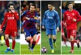 Šių laikų futbolo herojai: daugiausiai pinigų kovai su virusu paaukoję žaidėjai bei klubai