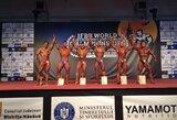 IFBB pasaulio jaunimo ir veteranų kultūrizmo čempionate lietuviai iškovojo tris medalius