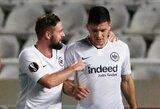 """L.Jovičiaus tėvo žinutė didiesiems klubams: """"Jis nori likti Frankfurte"""""""
