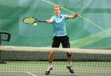 Tarptautiniame šešiolikmečių teniso turnyre Šiauliuose – lietuvių pergalės