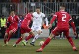 Dar vienas C.Ronaldo įvartis pasiuntė Portugaliją į Europos čempionatą