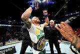 Naujasis UFC reitingas: A.Volkanovskio šuolis į viršų ir C.McGregorą pavijęs J.Gaethje