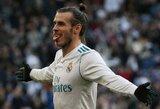 """R.Giggsas neabejoja: G.Bale'as gali užpildyti """"Real"""" komandoje atsiradusią tuštumą"""
