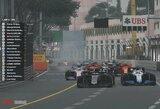 """Virtualiose """"Formulės 1"""" lenktynėse Monake – įtikinama G.Russello pergalė"""