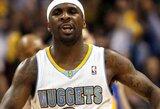 """Be trenerio antrajame kėlinyje likę """"Mavericks"""" krepšininkai pralaimėjo Denveryje (rezultatai)"""