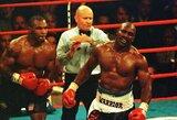 """D.Whyte'as: """"E.Holyfieldas bokso istorijoje turėtų būti aukščiau už M.Tysoną"""""""