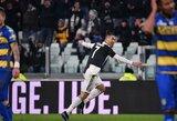 """M.Sarri apie C.Ronaldo: """"Turime čempioną, kuris kartais mums sukuria problemą, tačiau 100 jų išsprendžia"""""""