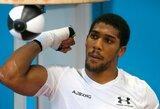 """A.Joshua: """"Galėjau kautis ir su """"dopinginiu"""" Milleriu, vis tiek jis nebūtų manęs nugalėjęs"""""""