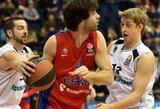 Staigmena: CSKA dramatiškai išplėšė pratęsimą, tačiau jame kapituliavo