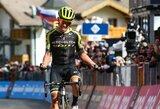 """E.Chavesas laimėjo 19-ąjį """"Giro d'Italia"""" etapą, R.Carapazas priartėjo prie čempiono titulo"""