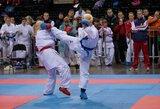 A serijos olimpinės karatė turnyre lietuviai liko be pergalių