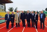 LLAF prezidento indėlį įvertino Europos lengvosios atletikos vadovas