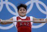 Aukso medalį iškovojusi sunkiaatletė M.Maneza tapo ir olimpine rekordininke