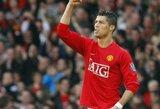 "Futbolo gandai: ""Manchester United"" klubas susigrąžins C.Ronaldo, PSG drebins rinką"